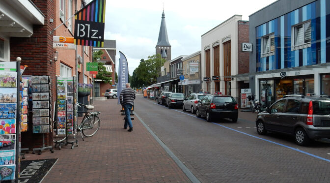Winkels in het centrum van Wierden